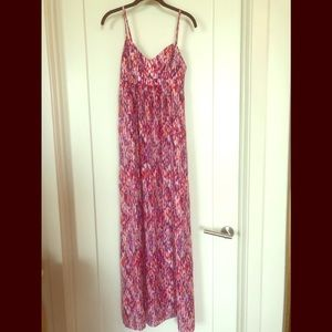 Felicity & Coco Red/Purple Dress size S